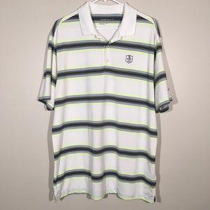 Nike Golf Tour Performance Short Sleeve Shirt SZ L